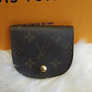 Authentic Louis Vuitton card holder coin purse